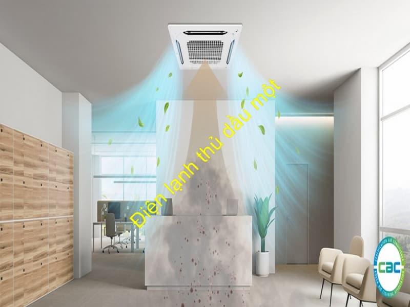 Dịch vụ vệ sinh máy lạnh công nghiệp ở Phường Hiệp Thành